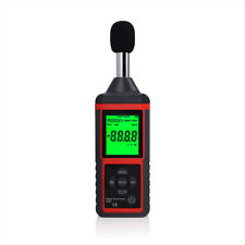 Digitale Geräuschmessung Dezibel-Messgerät-Logger-Audiotester 30-130dB DE SHIP
