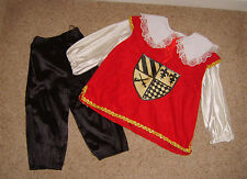 Boys Childs Musketeer Cavalier Period XVII Century Fancy Dress Costume 4-6 Yrs