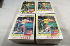 4 1984 Olympians Olympic Heroes Card Set Topps