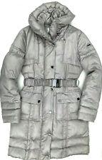 Womens ellesse Puffer Jacket Full Length Beige Size Large