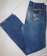 WRANGLER Mens Size 32x34 Slim Fit 36MWZ Denim Cowboy Cut Jeans
