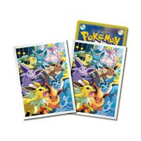 Pokemon center JAPAN - Eevee Friends Premium Card Deck Shields (64 Sleeves)