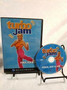 Turbo Jam -  Punch Kick and Jam DVD