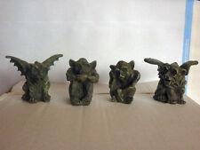 GARGOYLE soprammobile fantasy gotico statua statuetta arte personaggi collezione