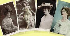 ☆ EDWARDIAN THEATRE ACTRESS - LILY ELSIE ☆ 1900s Postcards LIST 14