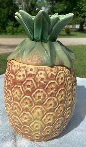 Vintage McCoy Pineapple Cookie Jar