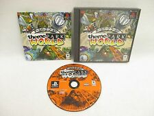THEME PARK WORLD Item ref/ccc PS1 Playstation Japan Game p1