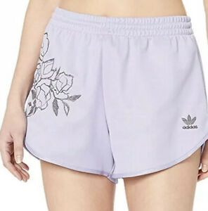 adidas Originals Women's Shorts, dust purple, 14