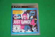 Just Dance 4 PS3 Playstation 3 NEU in Folie eingeschweißt