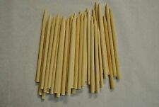 "Candy Apple Sticks Wood Skewers Corn Dog Sticks 50 ct 5.5"" x 1/4 Pointed-CDS55P"