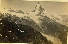 Alps 5B Mountains Switzerland. Albumen Print