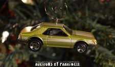 79 80 81 82 Ford Mustang Turbo Two Door Coupe 1/64 Custom Christmas Ornament