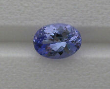 .96 CT. NATURAL TANZANITE OVAL