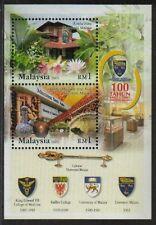MALAYSIA 2005 100 Years UM University Malaya S/S Mint MNH
