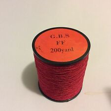 Oboe Reed Thread in red color