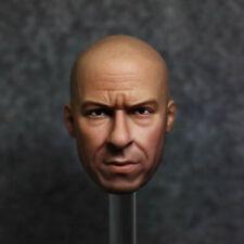 1/6 Scale Vin Diesel Head Sculpt Dominic Toretto The Fate of the Furious