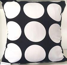 Black & white spot cushion cover