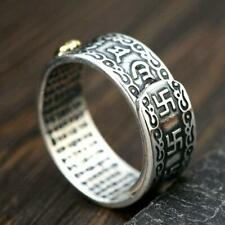 FENG SHUI PIXIU MANI MANTRA PROTECTION WEALTH RING BEST QUALITY US