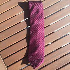 Kravatte/Tie/Cravate Rot/Red/rouge Seide/Silk/Soie