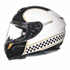 MT Rapide Revival Motorcycle Helmet Gloss White Motorbike Crash Lid Fibreglass