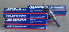 4x AC DELCO Glow Plugs Citroen C25 Relay CX25 LDV Sherpa LTI FR Talbot Express
