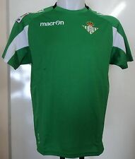 Real BETIS 2012/13 Away Shirt by Macron Adults Size EU Large With Tags