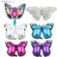 6pcs Butterfly Girl Birthday Decoration Foil Balloon Baby Shower Party Decor