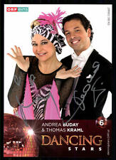 Andrea Buday und Thomas Kraml Dancing Star Original Signiert ## BC 19358