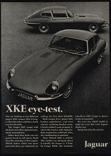 1968 JAGUAR XKE - XK-E Coupe - Sports Car - Eye Test - VINTAGE AD
