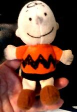 """Charlie Brown Plush Toy/Collectible~Wendy's Intl.5""""Tall-Polyester Fibers~Peanuts"""