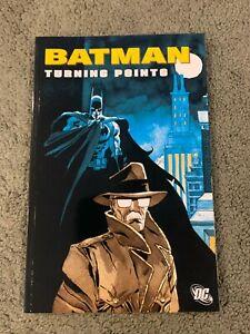 Batman Turning Points Graphic Novel-tpb-OOP Gotham/Gordon-Ed Brubaker