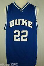 Duke Blue Devils Basketball Jersey #22 - Away - Men's Extra Large XL