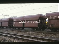 N1241 - Dia slide 35mm original Eisenbahn Holland, NS Erzwagen, '80s