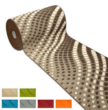 Tappeto cucina antiscivolo tessitura 3D moderno passatoia bordata bagno mosaico