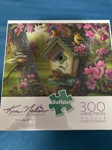 Buffalo Games - Kim Morlien - SPRINGTIME BEAUTY - 300 Pieces Puzzle - USED