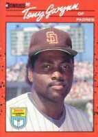 1990 Donruss Learning Series Baseball #48 Tony Gwynn San Diego Padres