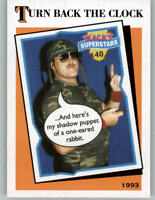 2016 WWE Heritage Turn Back the Clock #12 Sgt Slaughter