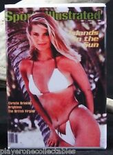 Sports Illustrated Christie Brinkley - Fridge Magnet. Pinup Girl. Swimsuit Issue