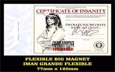 ALICE COOPER FLEXIBLE BIG MAGNET IMAN GRANDE 0188