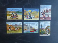 GRENADINES 1989 PHILEXFRANCE '89 DISNEY CHARACTERS SET 6 MINT STAMPS MNH