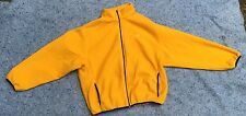 Speedo warmup beach Jacket Yellow Mens XL