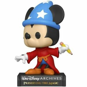 Highly Collectible Excellent Quality Disney Archives Sorcerer Mickey Pop! Vinyl