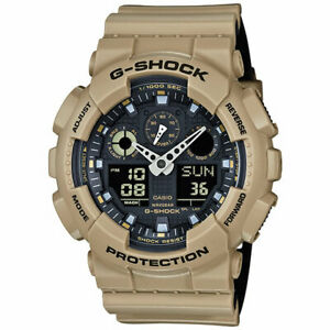 Casio G-Shock GA100L-8A Military Color Analog & Digital Watch Water Resistant