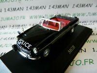 PUK1G voiture 1/43 CORGI ATLAS POLICE CARS : MGB Lancashire