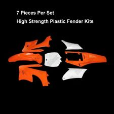 Orange Plastic Fender Kits For Chinese 2 Stroke 49cc Apollo Orion Mini Pit Bike