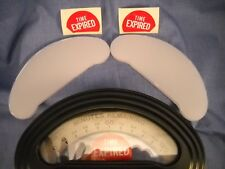 New Replacement Lens for Duncan Model 50 Parking Meters + Time Expired Decals