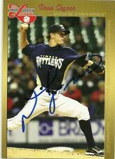 2012 Midwest League Timberrattler DREW GAGNON Signed Card AUTOGRAPH mets brewers