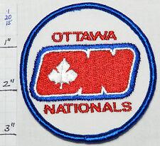 OTTAWA NATIONALS HOCKEY CANADA NHL VINTAGE SOUVENIR 1970'S PATCH