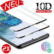 2x 10D Panzerfolie Samsung Galaxy S20/ S20 Plus/ S20 Ultra Full Cover Echt Glas