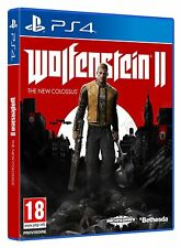 Wolfenstein II : The New Colossus VF  PS4 Neuf